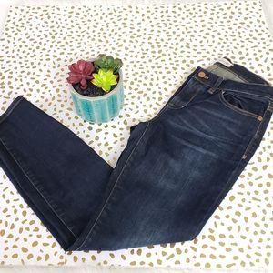 Madewell Skinny Skinny Medium Rise Jeans